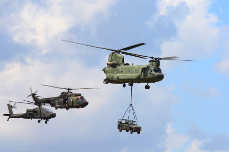 Boeing and Eurocopter&nbspChinook, Cougar and Apache