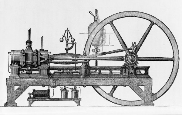 Lenoir's internal combustion engine