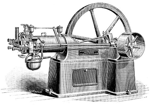 Ott's internal combustion engine